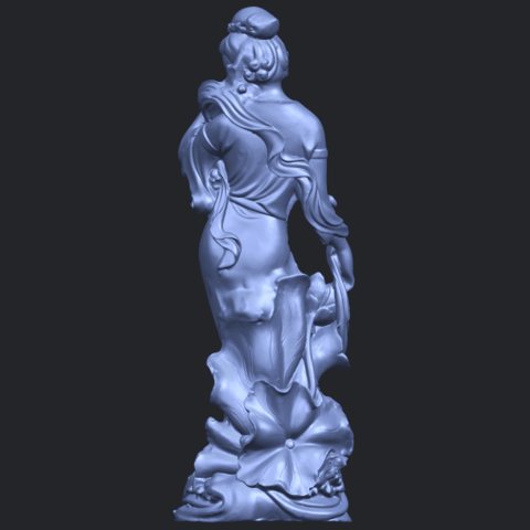 06_TDA0449_Fairy_04B06.png Download free STL file Fairy 04 • Object to 3D print, GeorgesNikkei