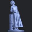 Free 3D printer files Village Girl 02, GeorgesNikkei