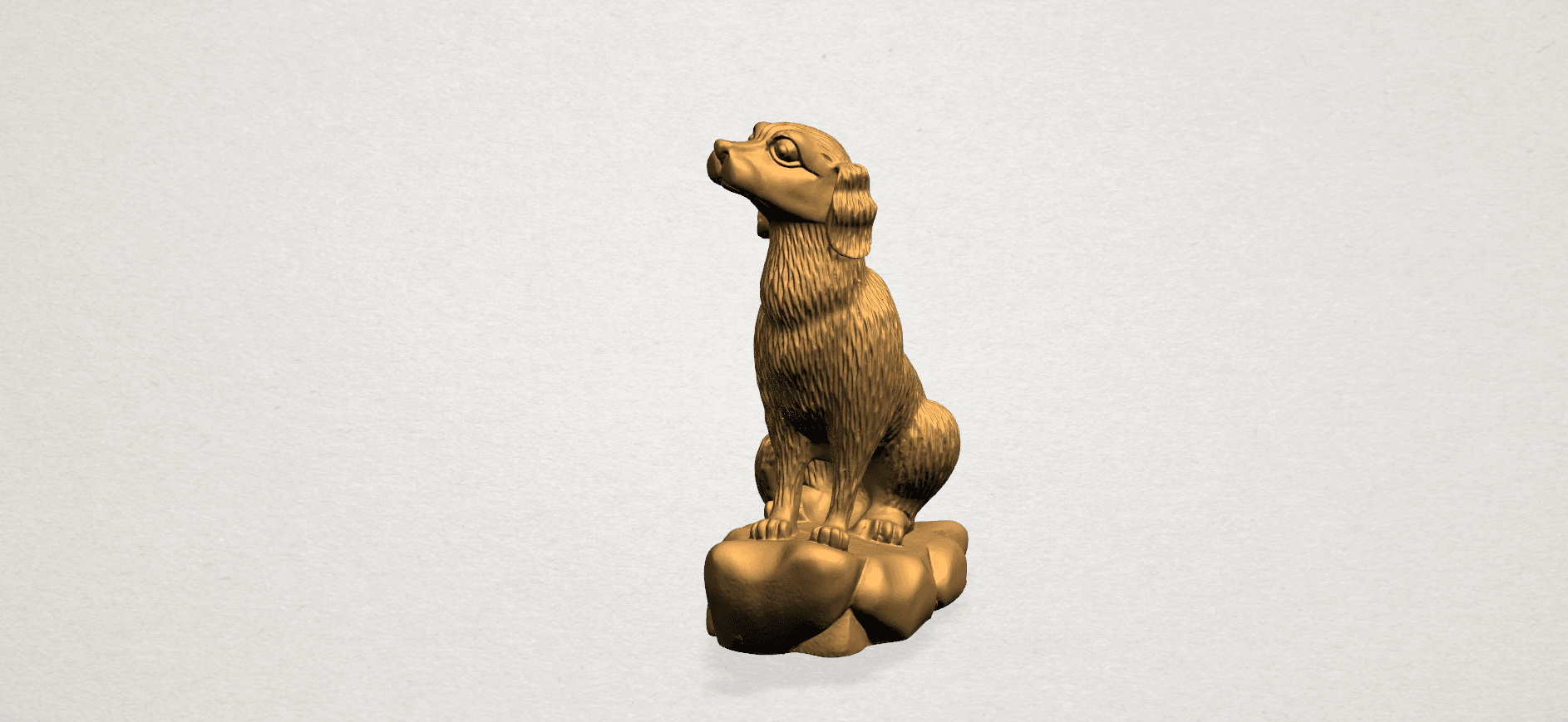 ZChinese Horoscope11-A01.png Download free STL file Chinese Horoscope 11 Dog • 3D print design, GeorgesNikkei