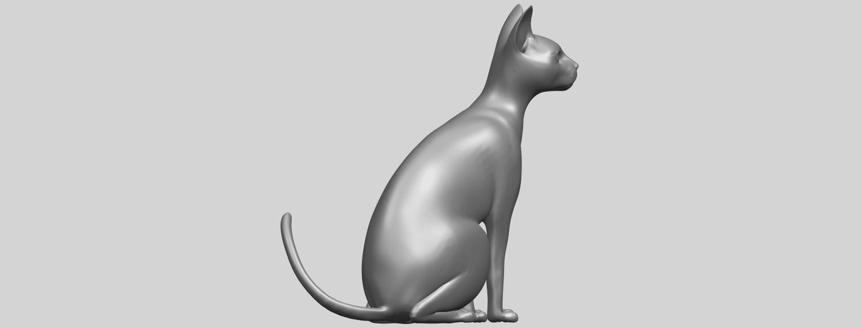 02_TDA0576_Cat_01A08.png Télécharger fichier STL gratuit Chat 01 • Modèle pour imprimante 3D, GeorgesNikkei