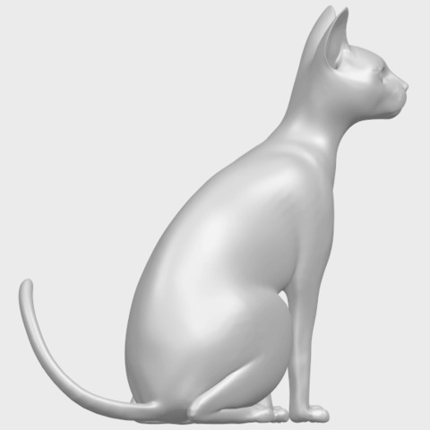 02_TDA0576_Cat_01A08.png Download free STL file Cat 01 • Design to 3D print, GeorgesNikkei