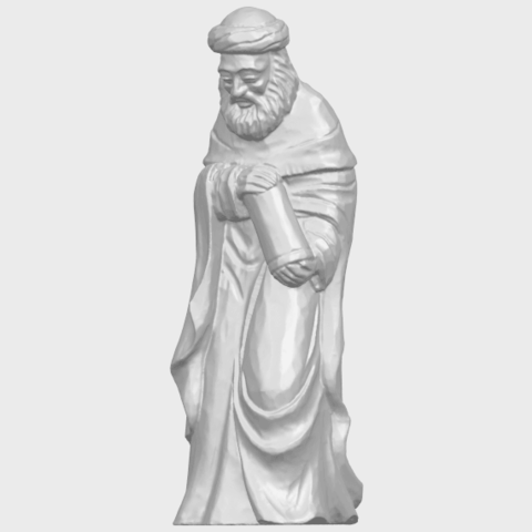 26_Sculpture_of_Arabian_88mm-A01.png Download free STL file Sculpture of Arabian • 3D print template, GeorgesNikkei