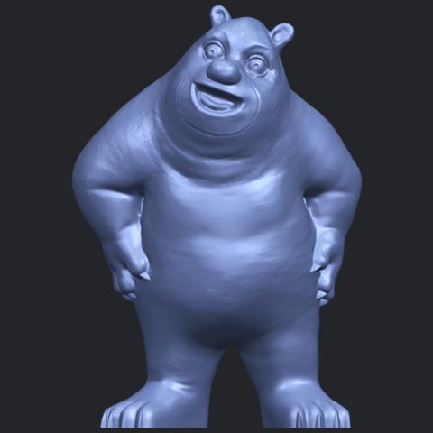 14_TDA0561_Bear_SeniorB01.png Télécharger fichier STL gratuit Bear Senior • Plan imprimable en 3D, GeorgesNikkei