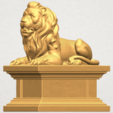 TDA0499 Lion 04 A02.png Download free STL file Lion 04 • Template to 3D print, GeorgesNikkei