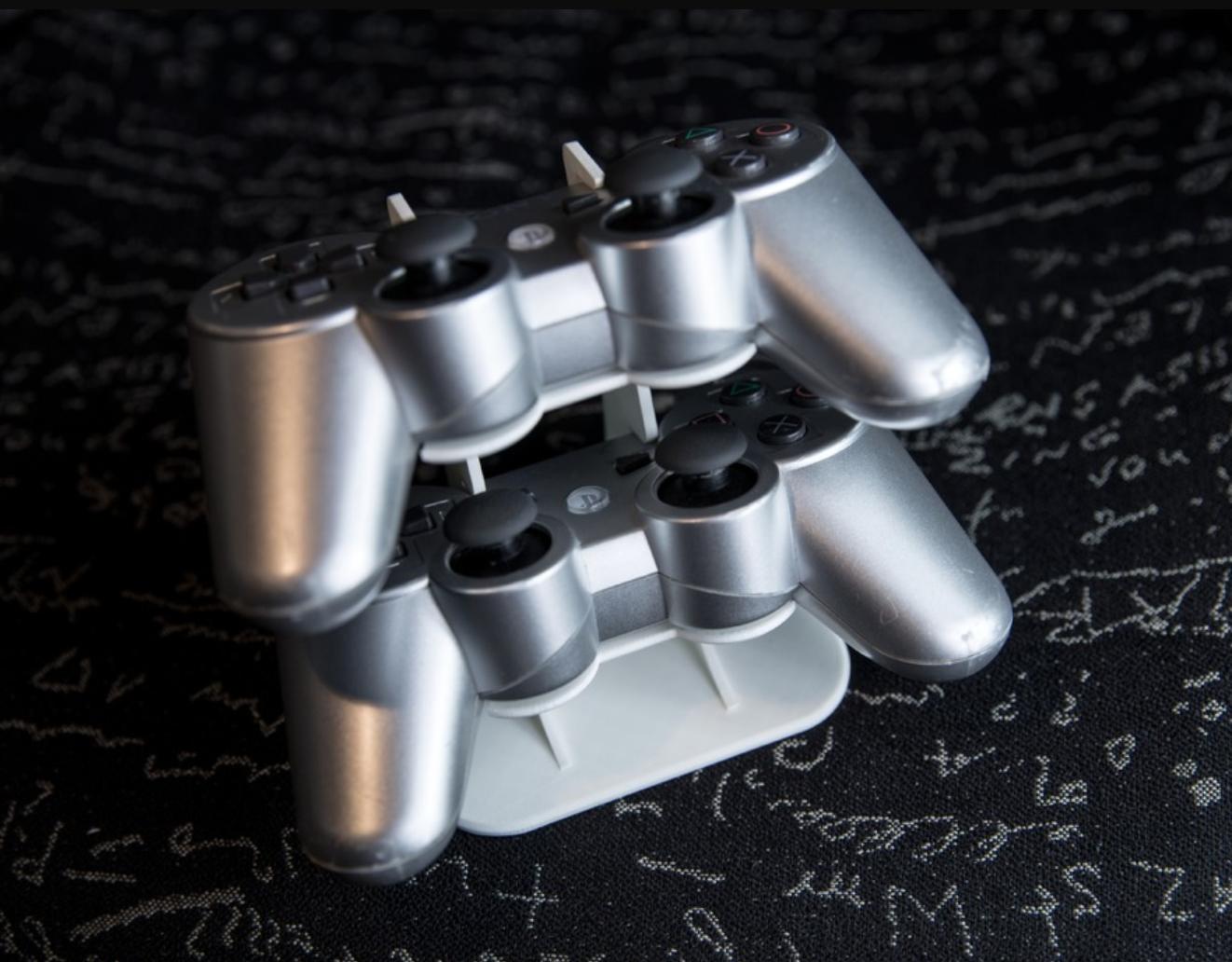 Capture d'écran 2018-01-05 à 12.41.32.png Download free STL file PS3 Controller Holder • Model to 3D print, Greystone