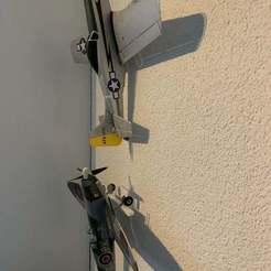 IMG_9963.jpg Download free STL file Ultra Micro Plane Holder • Model to 3D print, Greystone