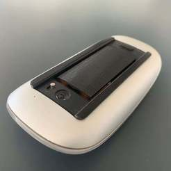 IMG_9320.JPG Download free STL file Magic Mouse Battery Holder • 3D print object, Greystone