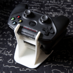 Download free 3D printer model Nimbus Steelseries Controller Holder, Greystone