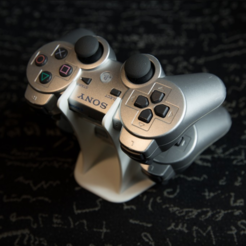 Capture d'écran 2018-01-05 à 12.41.16.png Download free STL file PS3 Controller Holder • Model to 3D print, Greystone