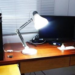 3D print model Desk Lamp 3dPrinted 3dFactory, 3dFactoryBrasil