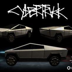 Capa.JPG Download STL file Tesla Cybertruck - 3dPrintable - 3dFactory • 3D printable design, 3dFactory