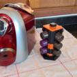 Free Nespresso 4 Capsules 3D printer file, D4niel
