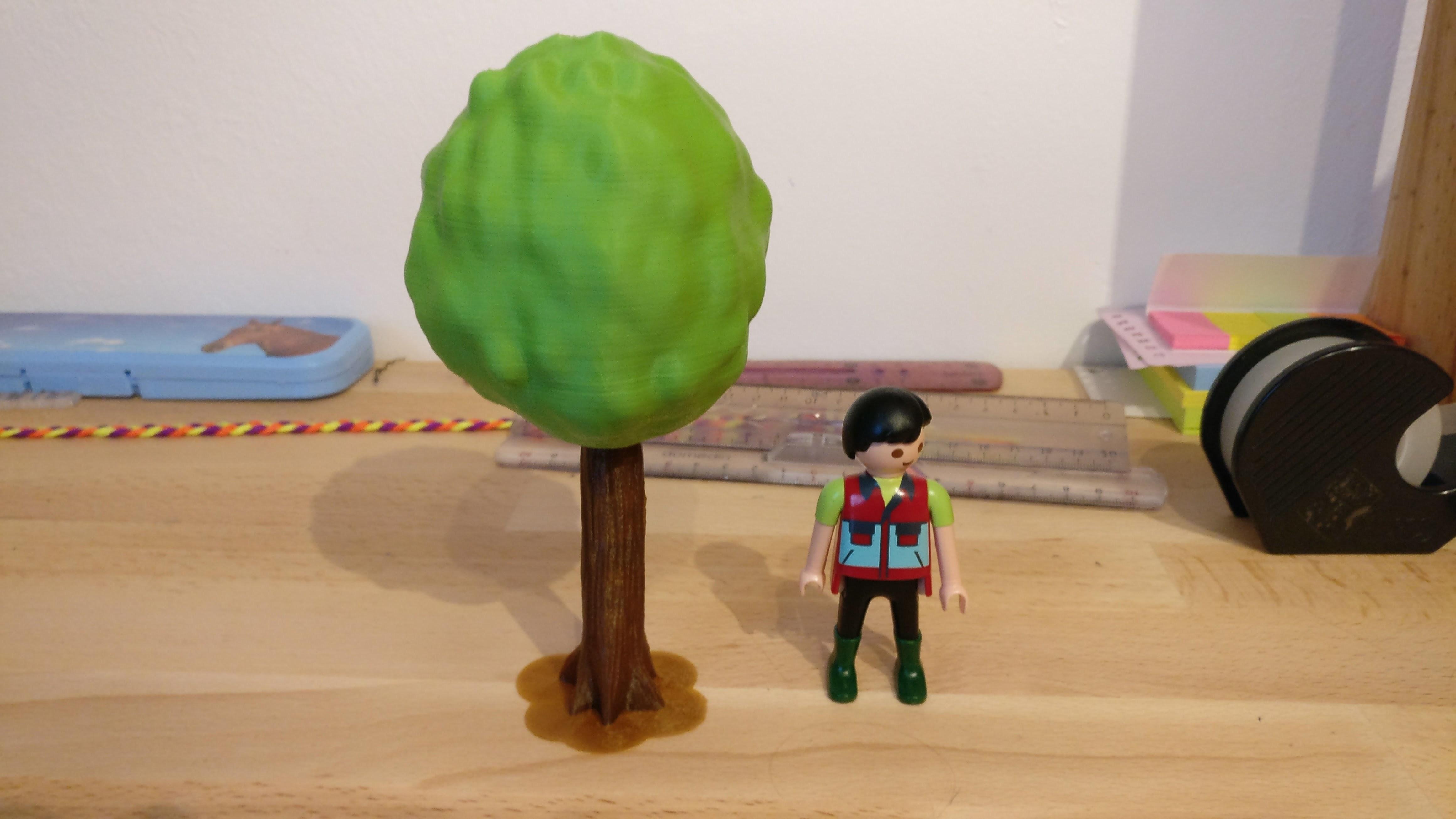photo.jpg Download free STL file Tree for Playmobil • 3D printable design, Flintstones