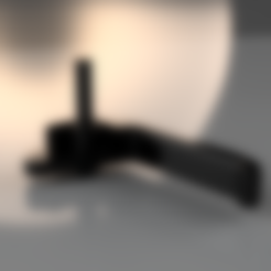 poignée passager renault trafic . clio phase 1.stl Download STL file Renault passenger or passenger car phase 1 • 3D printing template, als