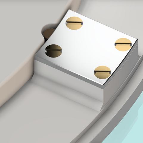 base papier 4.png Télécharger fichier STL gratuit Distributeur triple pour papier toilette • Design à imprimer en 3D, als