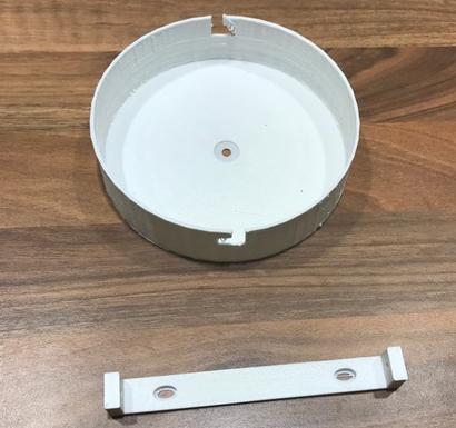 pavillon plafonnier.png Download free STL file Pavillon plafonnier lampe • 3D printable object, rom182