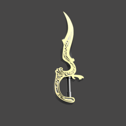 Download 3D printing files Dagger, AntonShtern
