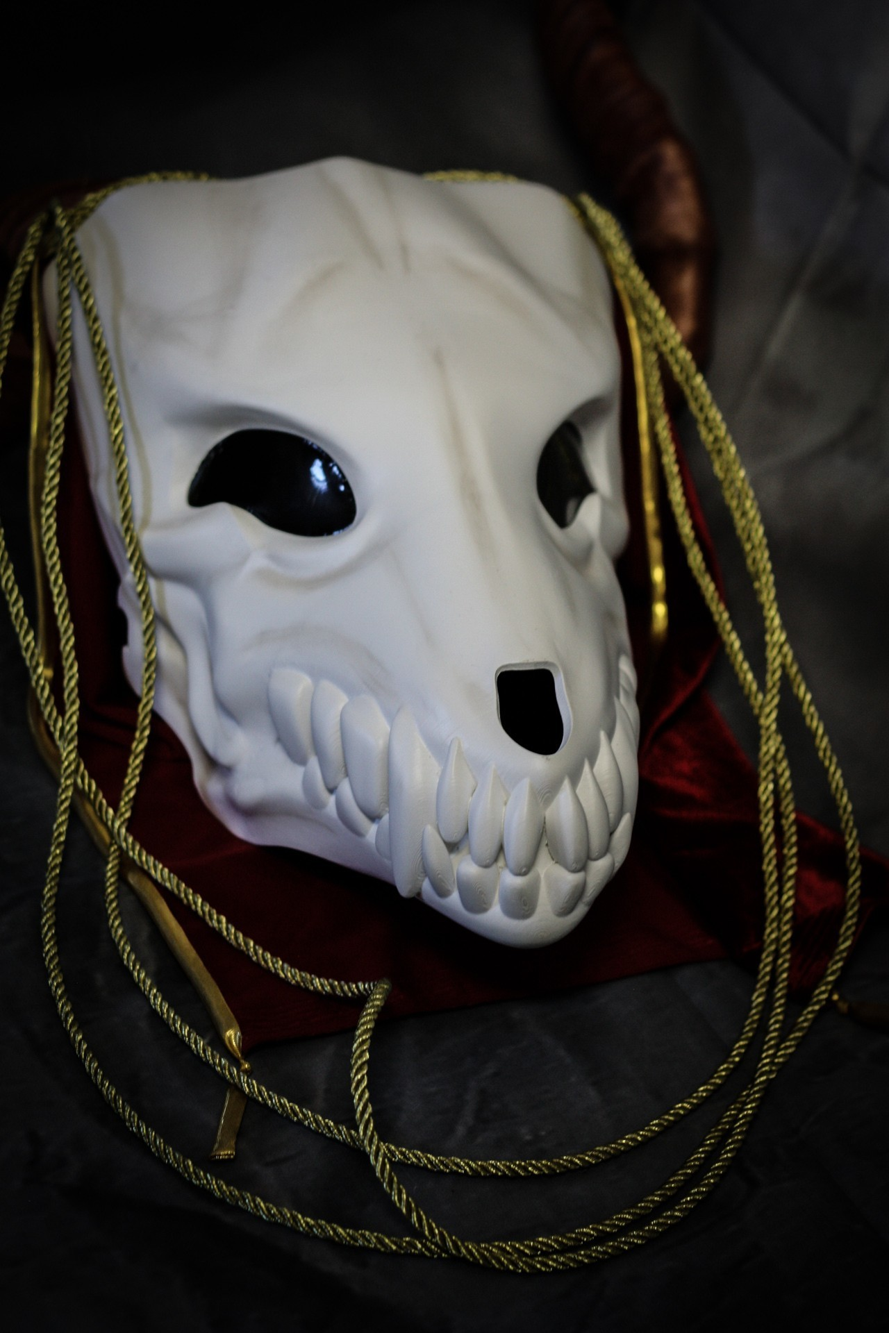IMG_4965.jpg Download STL file Elias Ainsworth Mask | The Ancient Magus' Bride Mask  • 3D printer design, AntonShtern