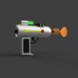 Download STL file Laser Gun from Rick and Morty cartoon • 3D printer design, AntonShtern