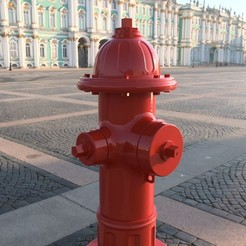 Download STL file Fire hydrant • Model to 3D print, AntonShtern