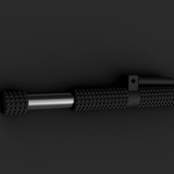 Jyn Erso Baton v16 6.png Télécharger fichier STL Jyn's Erso Baton Tonfa • Modèle pour impression 3D, AntonShtern