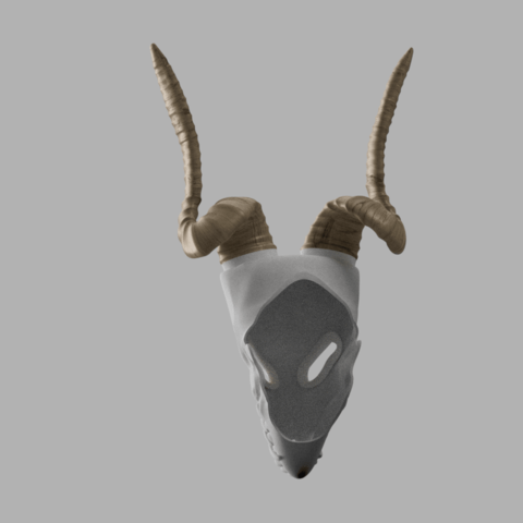 CHEREP NAREZKA 2.png Download STL file Elias Ainsworth Mask | The Ancient Magus' Bride Mask  • 3D printer design, AntonShtern