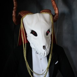 Fichier STL Elias Ainsworth Mask | Masque de mariée de The Ancient Magus' Bride Mask, AntonShtern
