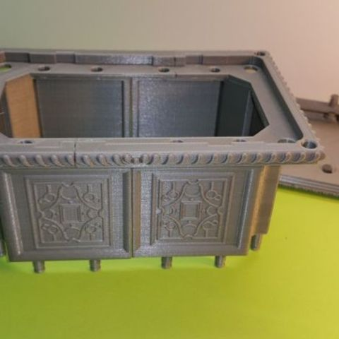 3c771571d802afaff9d3fba38d6cb40e_preview_featured.jpg Download free STL file Box - Chest Renaissance XVI ème • 3D printing object, NOP21