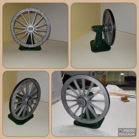 afe0a77fe86926f412c1421152c993e2_preview_featured.jpg Download free STL file A spinning wheel • 3D printing template, NOP21