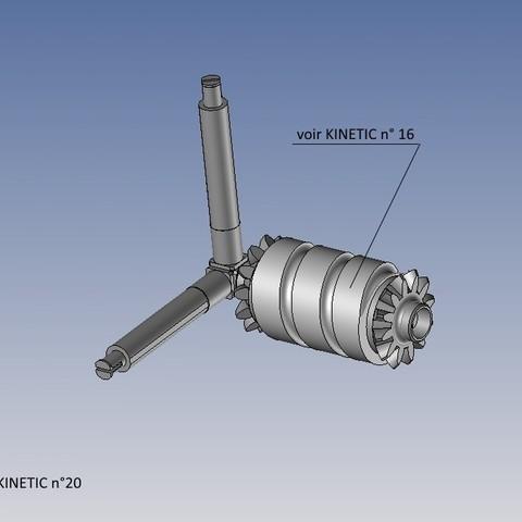 kinetic n°20.jpg Télécharger fichier STL gratuit KINETIC 2 • Plan pour imprimante 3D, NOP21