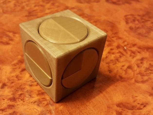 2f55bea997161fea0f9eada07bafbd64_preview_featured.jpg Download free STL file Big puzzle cube 1001 • 3D printer model, NOP21