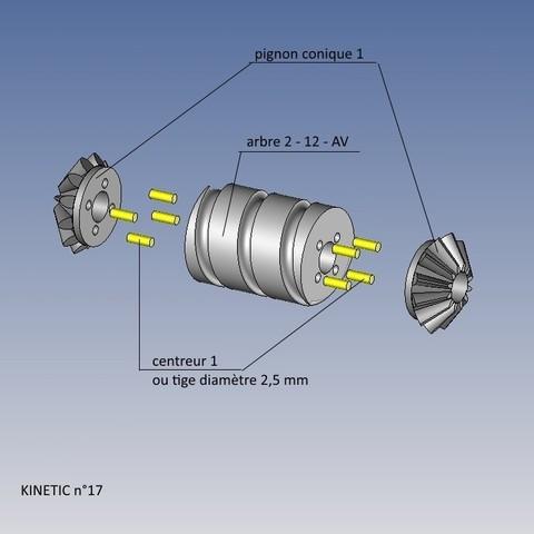 kinetic n°17.jpg Télécharger fichier STL gratuit KINETIC 2 • Plan pour imprimante 3D, NOP21