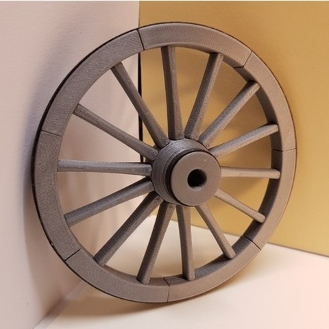 500c710038d89b0f45a121918941900d_preview_featured.jpg Download free STL file A spinning wheel • 3D printing template, NOP21