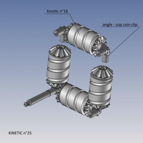 kinetic n°25.jpg Télécharger fichier STL gratuit KINETIC 2 • Plan pour imprimante 3D, NOP21