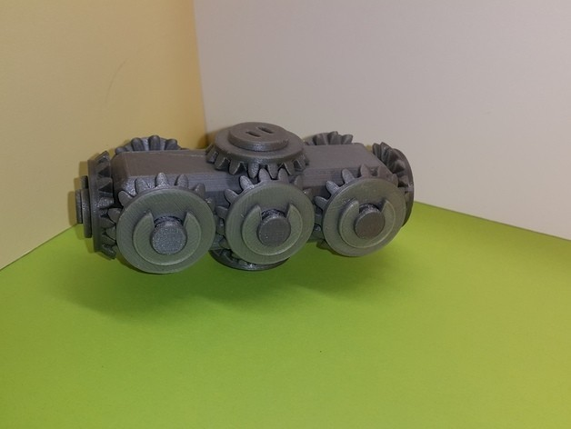 93c75699d920987eed4546495dc77590_preview_featured.jpg Download free STL file Head with 10 bevel gears • 3D print object, NOP21