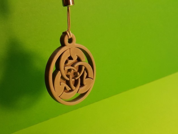 4c910e5510ead0e5ec044ea095d19367_preview_featured.jpg Download free STL file Ghost Dog Medal • 3D printer design, NOP21