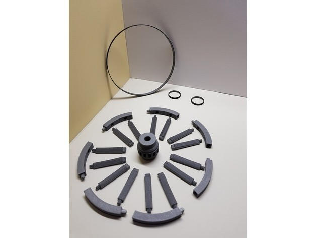 4dfa34511d1fbeeccd3d15cd6ca0f912_preview_featured.jpg Download free STL file A spinning wheel • 3D printing template, NOP21