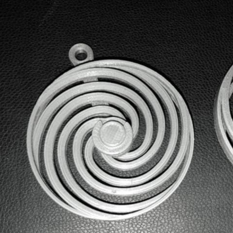 Capture d'écran 2018-06-28 à 12.57.18.png Download free STL file Spiral optic illusion 2 • 3D printing design, NOP21