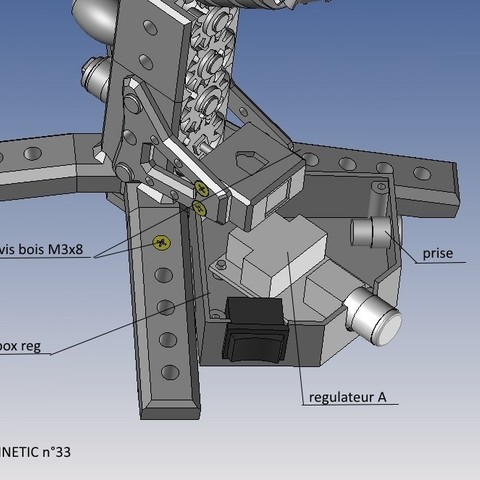kinetic n°33.jpg Télécharger fichier STL gratuit KINETIC 2 • Plan pour imprimante 3D, NOP21