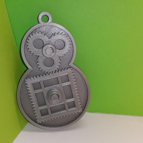 Download free STL file Square gear - square gear • 3D print design, NOP21