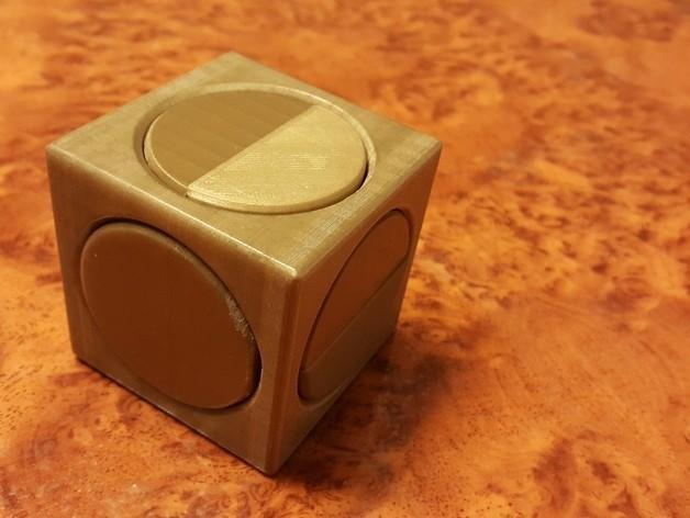 1fc2151c2493b09993ced6356cb9837f_preview_featured.jpg Download free STL file Big puzzle cube 1001 • 3D printer model, NOP21