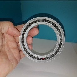 Free 3D print files Large ball bearing, NOP21