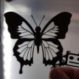 Capture d'écran 2018-06-28 à 15.07.17.png Download free STL file Blue Butterfly • 3D print design, NOP21