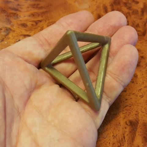 Download free 3D printer files Tetrahedron, NOP21