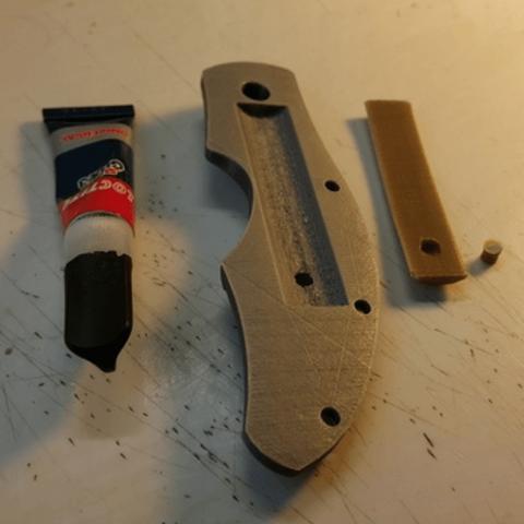 Capture d'écran 2018-06-28 à 11.16.36.png Download free STL file Folding Astroller knife with locking catch • 3D printer design, NOP21