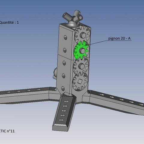 kinetic n°11.jpg Télécharger fichier STL gratuit KINETIC 2 • Plan pour imprimante 3D, NOP21