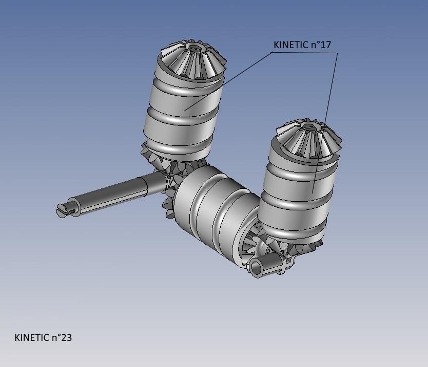 kinetic n°23.jpg Télécharger fichier STL gratuit KINETIC 2 • Plan pour imprimante 3D, NOP21