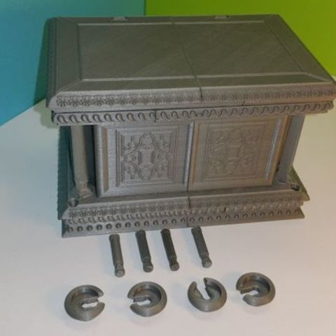 2b9a8f0c520cef5c93b6a95a7af06e2b_preview_featured.jpg Download free STL file Box - Chest Renaissance XVI ème • 3D printing object, NOP21