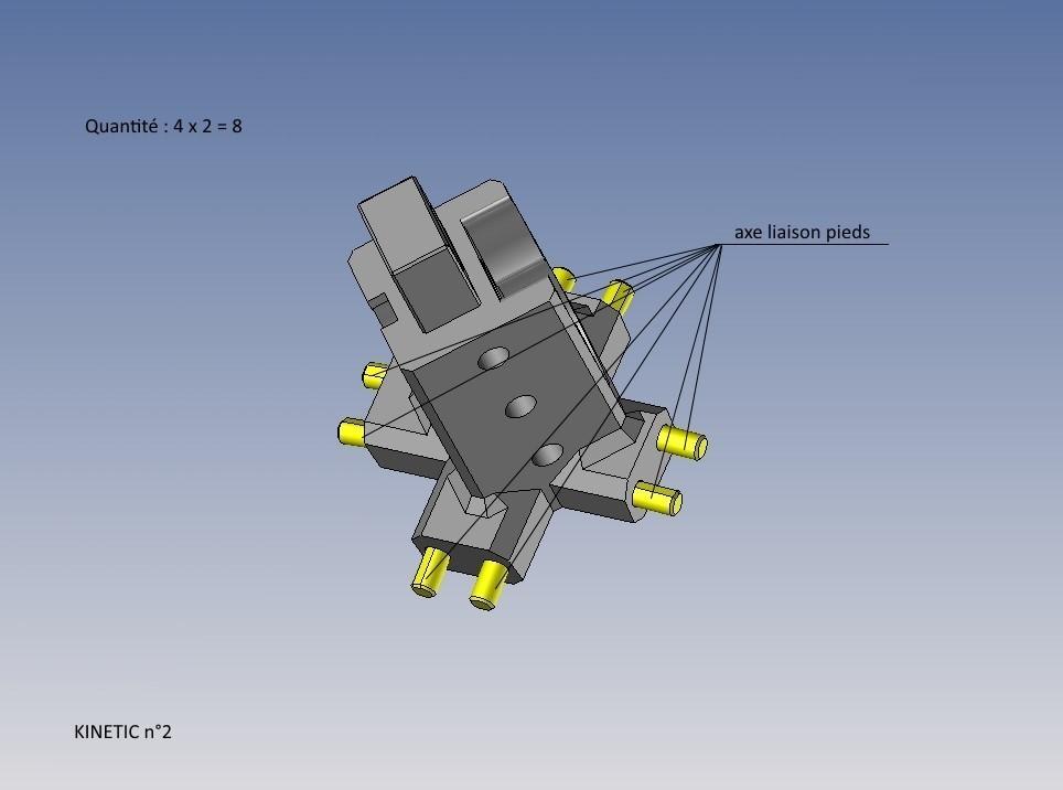 kinetic n°2.jpg Télécharger fichier STL gratuit KINETIC 2 • Plan pour imprimante 3D, NOP21