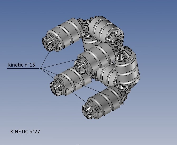 kinetic n°27.jpg Télécharger fichier STL gratuit KINETIC 2 • Plan pour imprimante 3D, NOP21